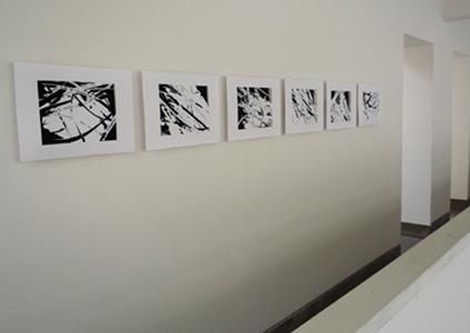 Ausstellungsansicht Künstlerforum Bonn