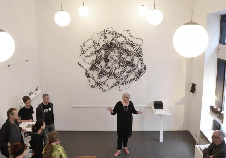 Ausstellungsansicht Galerie Druck und Buch, Wien