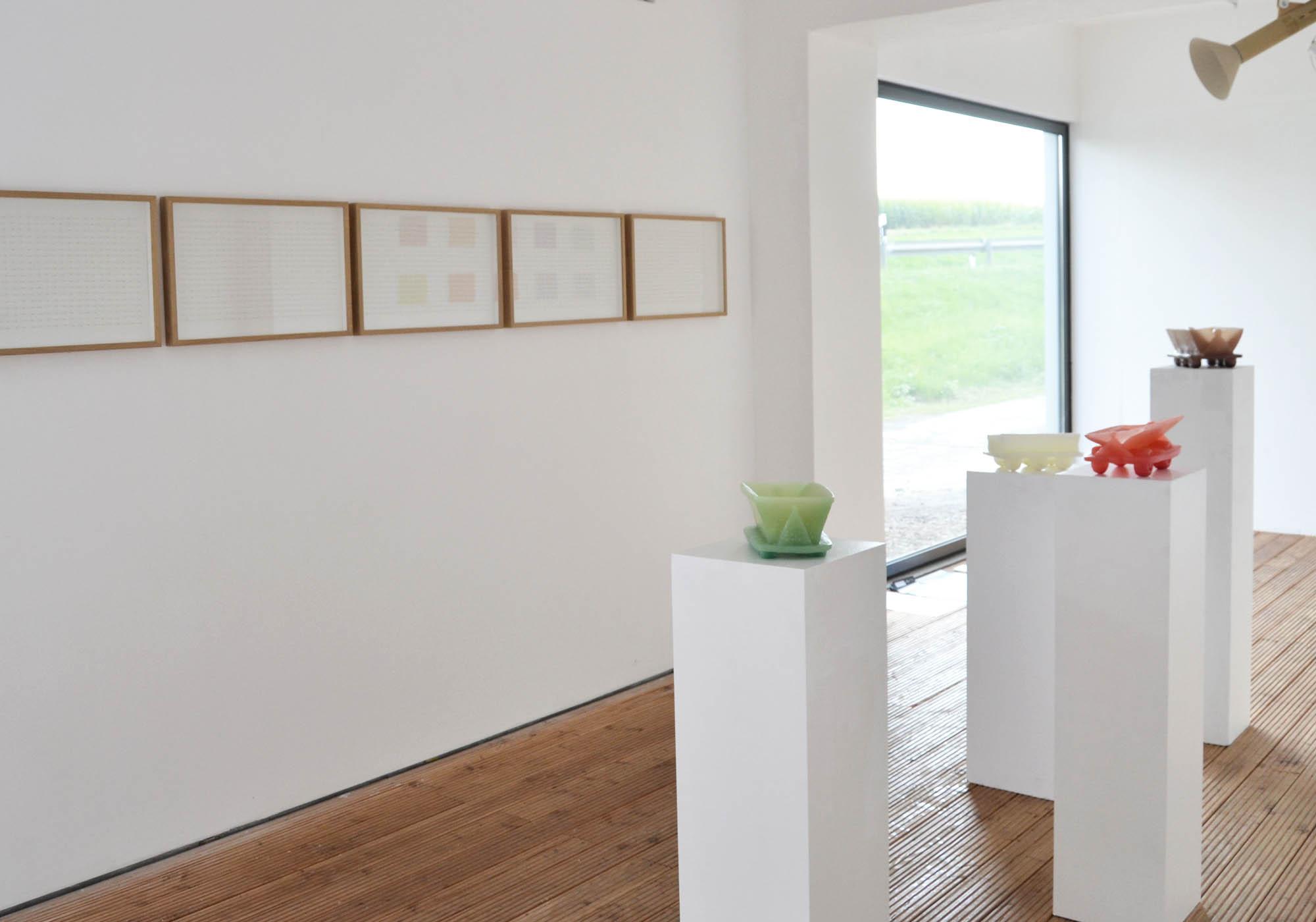 Detail Ausstellungsansicht Kunstturm Mücke